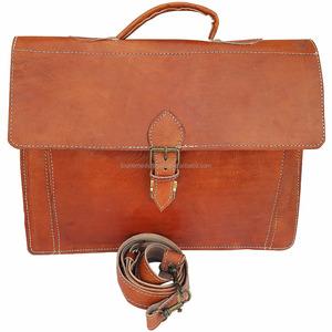 77eef527dfbe Morocco Genuine Leather Messenger