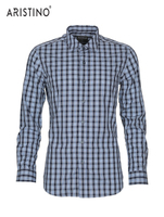 Fashionable unique designer slim fit men's shirt