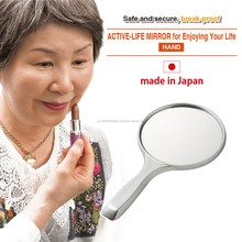 Durable and Hard coating nursing care mirror wholesale with available in various sizes made in Japan