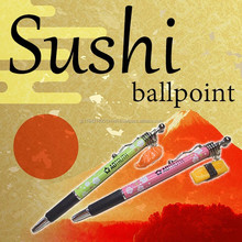 Unique realistic sushi Japanese pens with customizable logo