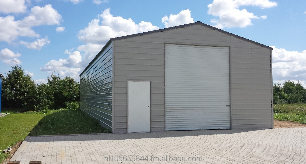 Industrial Structure Steel building H700 - Steel workshop and Warehouse - Storage building
