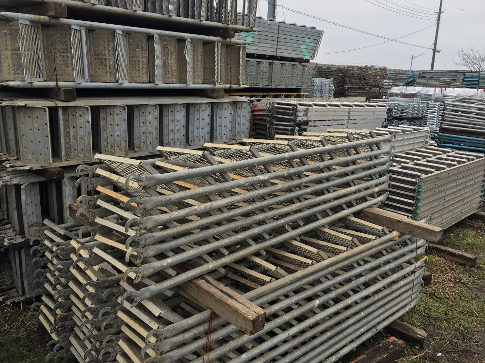 Steel Scaffolding Japan : Safe and japanese building material import quot used