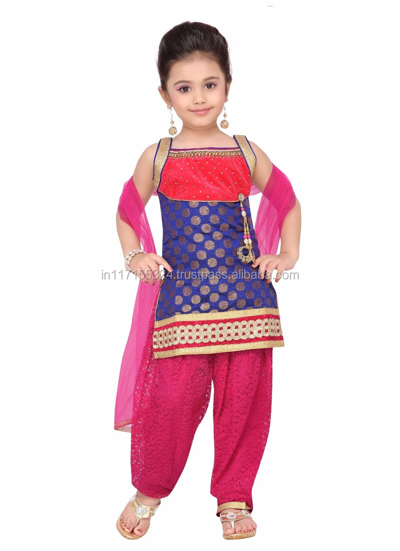 27d81f78fd08 Latest Indian Fashion Kids Dress - Boutique Baby Clothing - New ...