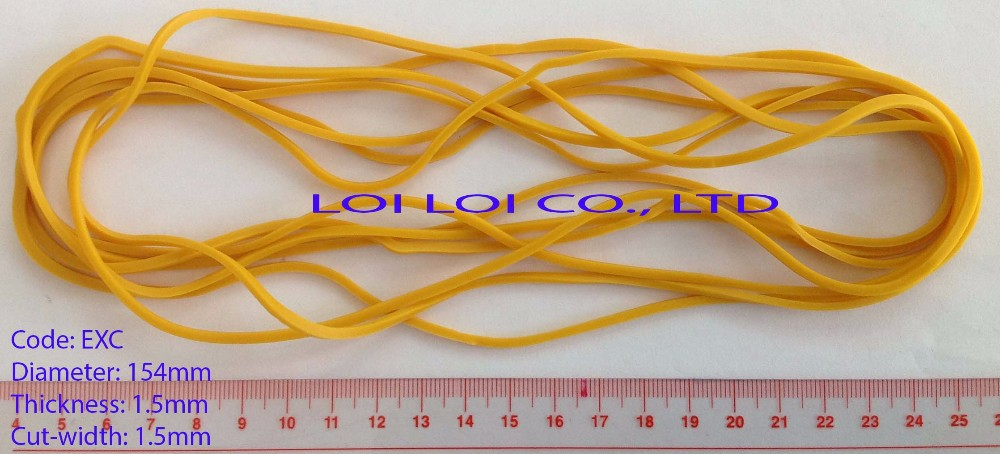 Factory Supply Red Rubber Bands For Sale Extra Wide