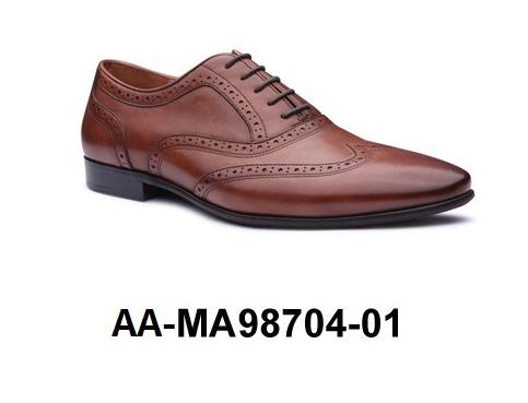 01 Dress AA Men's Shoe Genuine Leather MA98704 Yfxq1
