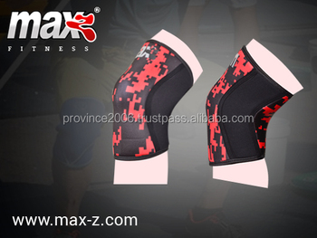 Neoprene knee sleeve brace