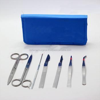 Los 13 Instrumentos Quirúrgicos De Disección Kit/anatomía Kit/rana ...
