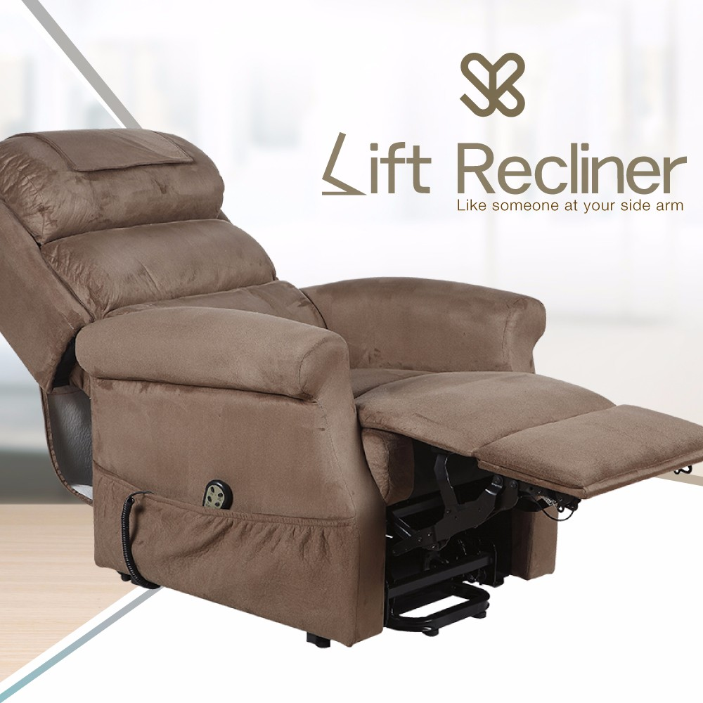Electric Adjustable Lift Sofa Leisure Home Reclining Bed
