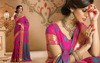 Magenta Silk Kanchipuram Saree