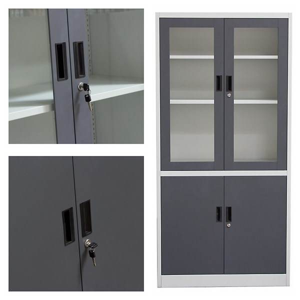 Galvanized Full Embled Bedroom Cupboard Style Bilik Tidur Almari A