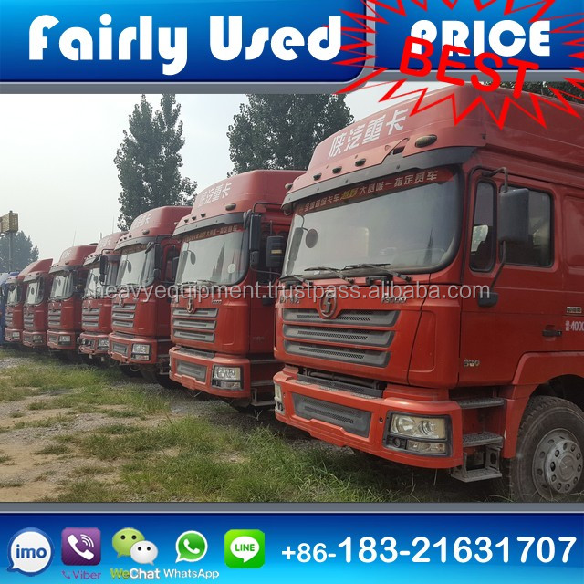 Used Shacman Tractor Truck of Used Shacman Truck Tractor for sale