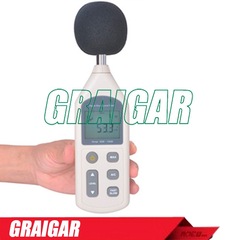 Ultrasonic Digital LCD Ultrasonic Sound Level Meter GM1357