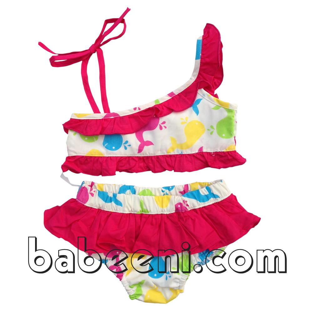 1c9b27f0afacf Cute Mermaid Smocked Girl Swimwear - Bb293 - Buy Mermaid Smocked ...