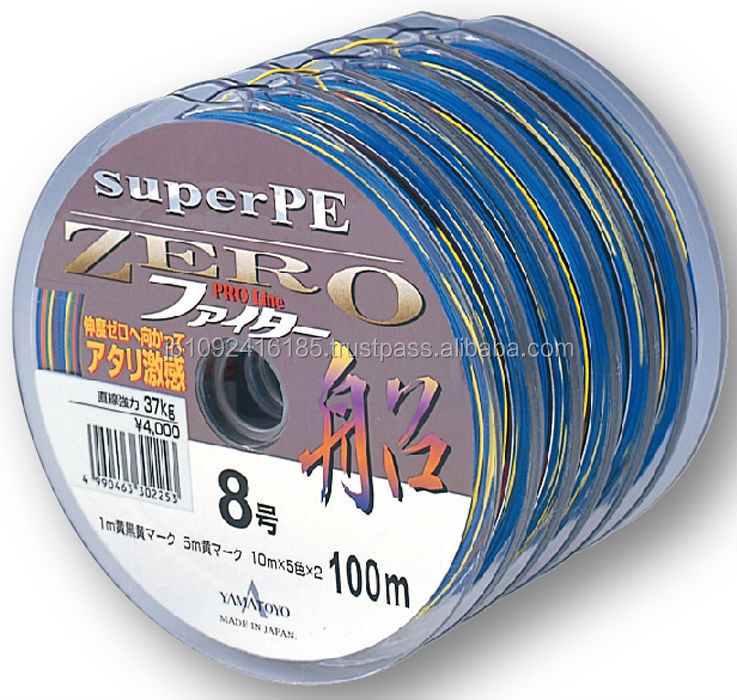 Reliable and Strong deep sea fishing line for pastime small lot order available