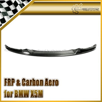 For BMW 2014 X5M Performance Type Carbon Fiber Front Lip
