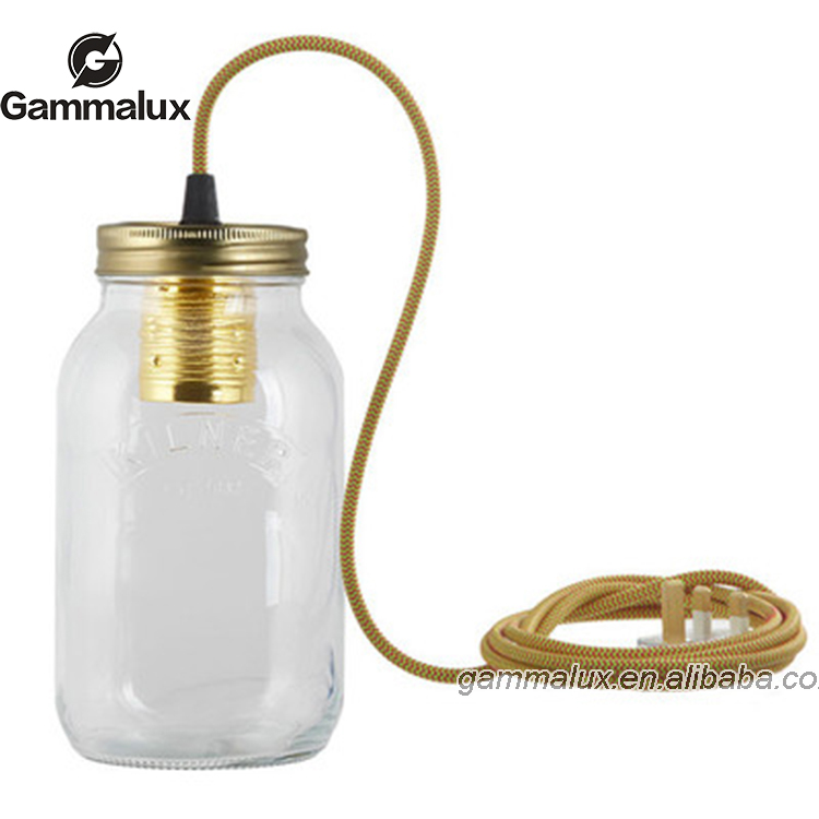 New Design Pendant Light Jam Jar Light