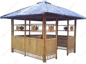 Wholesale Bamboo Pavilion House Bambus Gazebo Pergola