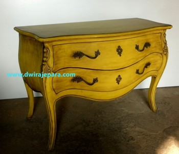 Perfect Mahogany French Bombay Chest Of Drawers Yellow Burst Antique Color Furniture