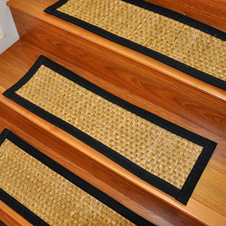 seagrass carpet stair treads rug buy carpets and rugs. Black Bedroom Furniture Sets. Home Design Ideas