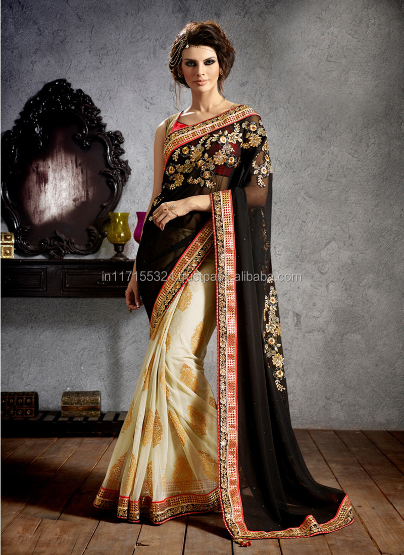 Fancy Party Wear Indian Saree Latest Style Women Sarees