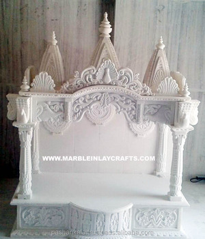 Beautiful marble indian home temple pure marble mandir buy designs for home temples marble for Marble temple designs for home