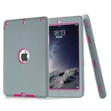 Best quality wholesale silicone hard robot children case for apple ipad mini 1/2/3/4/5/6 case cover