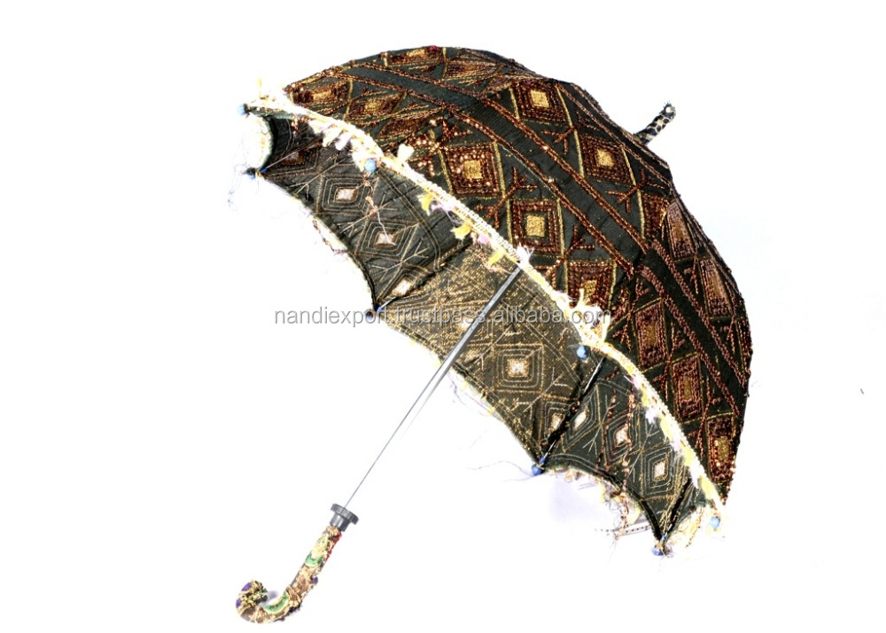 Sun Protect Summer Use fashion vintage beach umbrella