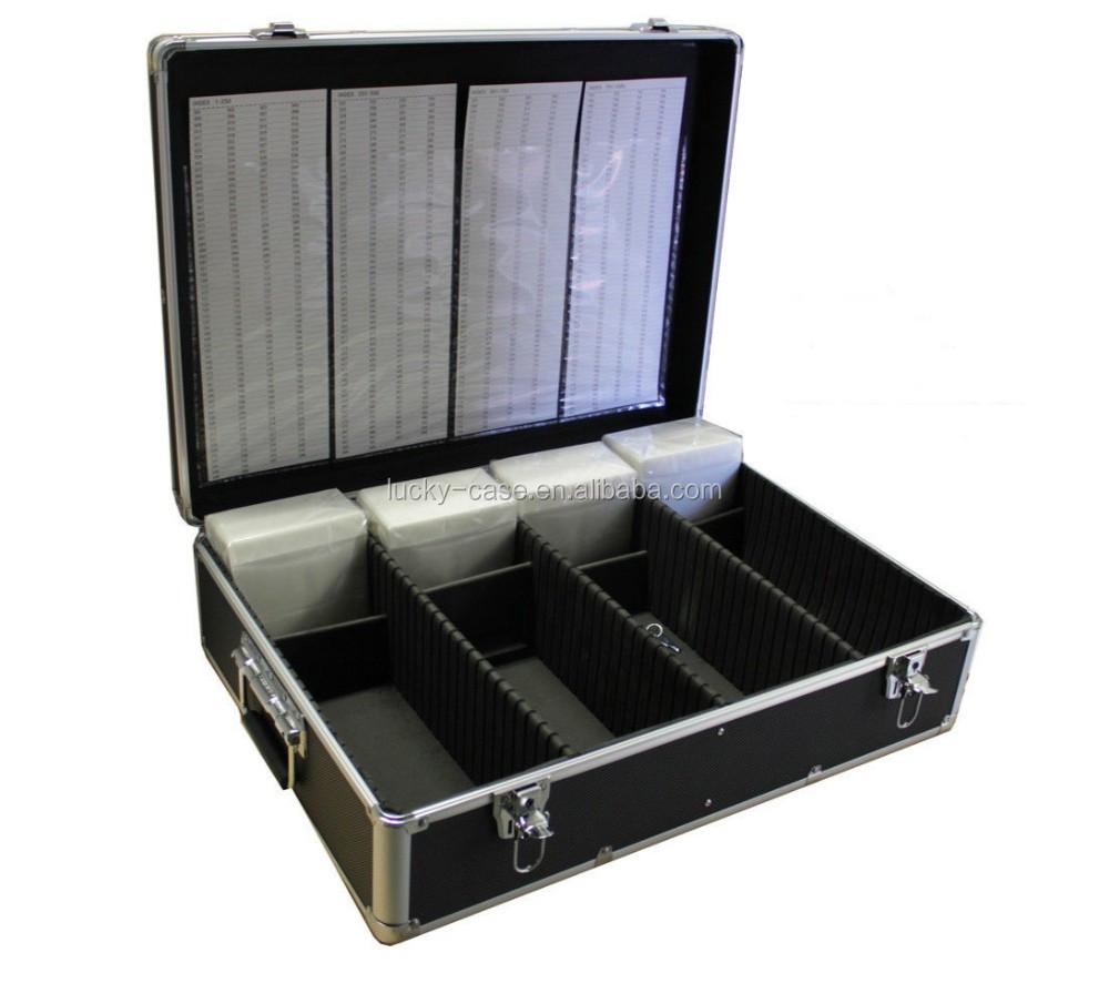 Custodia in alluminio con chiave e organizer
