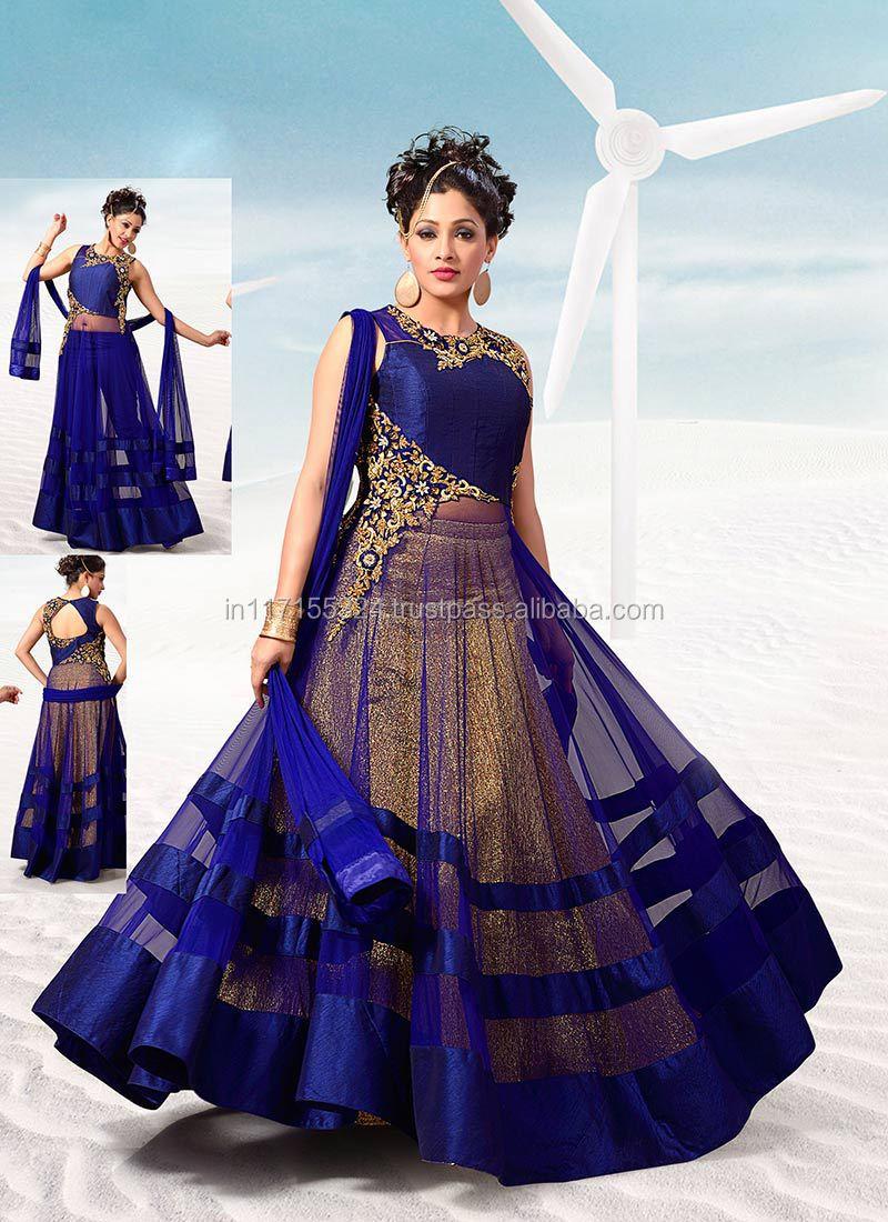 Lovely Wedding Wear Net Floor Touch Anarkali Suits\pakistani ...