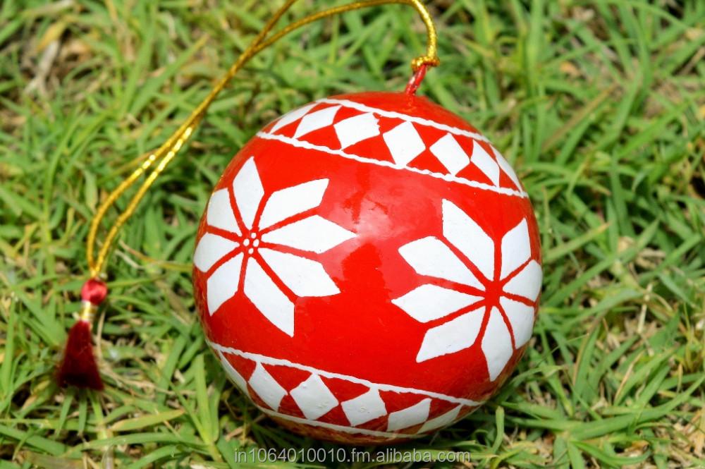 Paper Mache Christmas Ornament.Handmade Christmas Baubles Paper Mache Xmas Ornaments Kashmir Buy Handmade Christmas Ornaments Sale Product On Alibaba Com