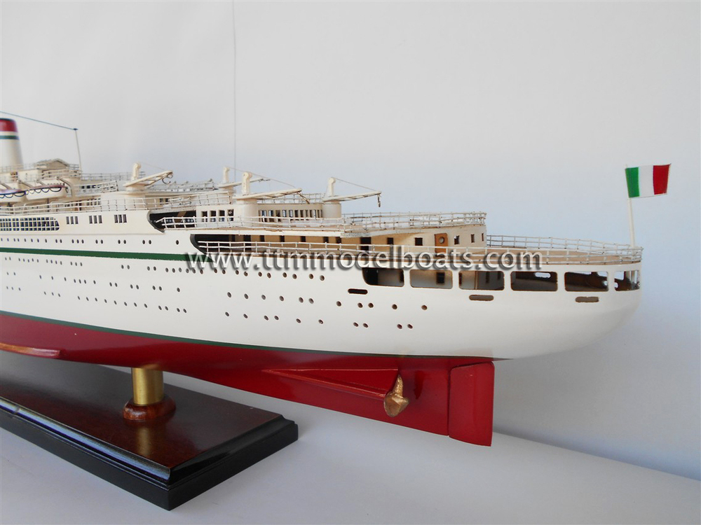 Ss Cristoforo Colombo Wooden Cruise Ship Models  Buy
