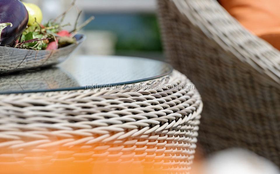 Modern Style Design Garden Sofa Set- Pvc Rattan Garden Sofa ...
