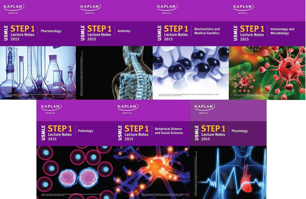 Kaplan Usmle Step 1 (set Of 5 Books) 2015 - Buy Kaplan Usmle Product on  Alibaba com