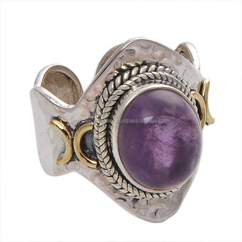 8e55a56a1 Amethyst Gemstone 925 Sterling Silver Ring Wholesale Ring Handmade Ring