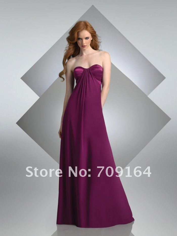 top robes blog robe longue couleur prune. Black Bedroom Furniture Sets. Home Design Ideas