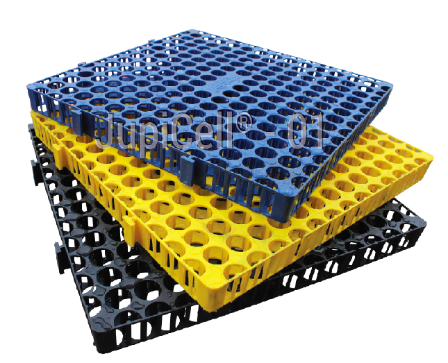 Polypropylene Drainage Cell : Roof garden material drainage cell buy
