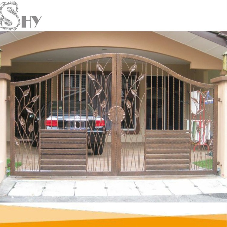 Modern Decorative House Entrance Cast Iron Latest Main