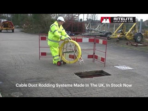 Cable Duct Rodding Systems Ad