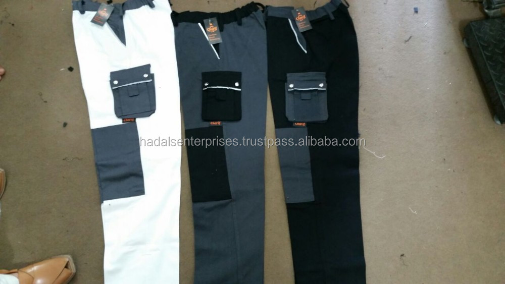 Work wear heavy duty trousers