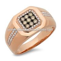 Art Deco Antique Style Diamond Milgrain 14K 18K Gold Half Eternity Wedding Band Ring Aniversary Ring Valentine's day Gift