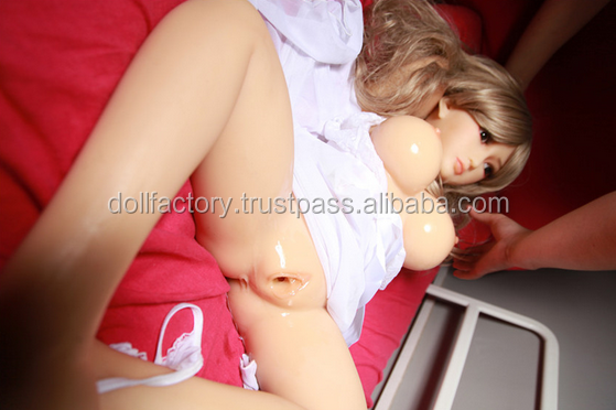 Anime sex doll 105cm life size real silicone sex dolls for man adult sexy toys product with metal skeleton