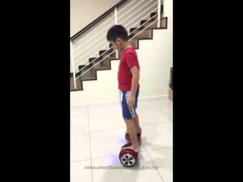 Smart X6 Hoverboard 6.5 Inch Smart Balance Wheel Electric Scooter Segway Malaysia - Customer Review