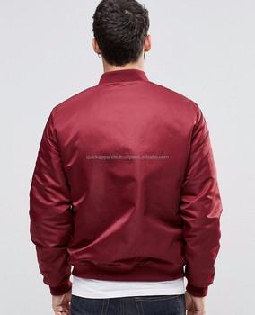 2ed095413ee Custom Bomber Jackets Men OEM Men Knitted Quilted Zipper Men Varsity Jacket