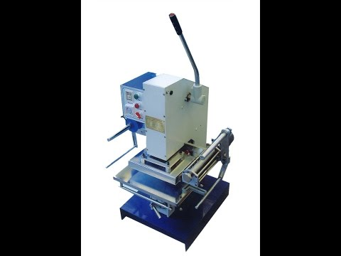 Leather Embossing Stamping Machine, Foil Stamping Marking Machine Leather PVC, Tin Bronzing Machine