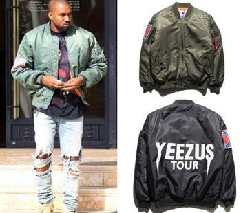 5e25864b0 Kanye West Yeezus Jacket Ma1 Bomber Jacket Pilot Jackets Hip Hop Sport Suit  Parkas Winter Windbreak Jacket - Buy Men Hip Hop Jacket Kanye West Product  ...