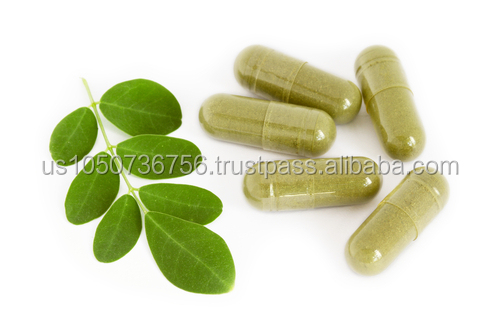 GMPc Health Food Supplement Moringa Capsules benefits