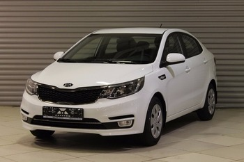 Kia Rio FL Comfort RS+1.4L/107 4AT 4D White /Black cloth