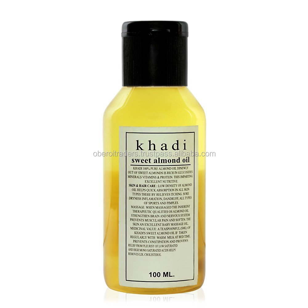 Khadi Sweet Almond Oil, 100ml
