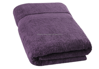 Lavender Thick Bath Towel 100% cotton for Hotel