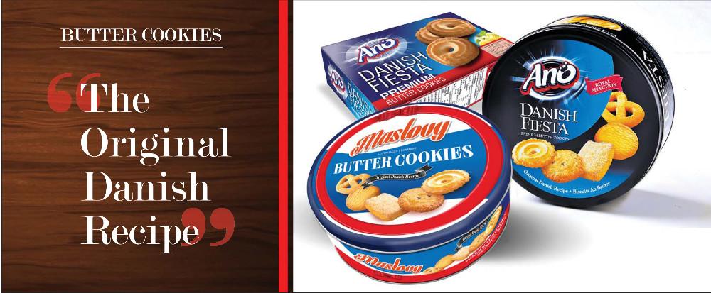 Ano Danish Butter Cookies/biscuit